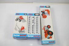 Fischertechnik 3 Différentes 028+034+051 Complément Boîte Neuf (MF12) M