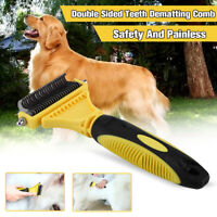 Dog Brush for Shedding-Best Cat Grooming Comb Tools Hair Pet Trimmer  《l1 RT3