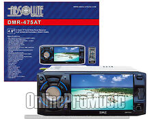 Absolute DMR-475AT 4.8-Inch DVD/MP3/CD Multimedia Player w/ USB, SD, TV Tuner