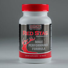 RED STAG -STRONG LEGAL TESTOSTERONE MUSCLE BOOSTER NO STEROIDS/HGH 60 DAY SUPPLY