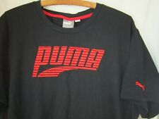Puma Men's Short Sleeve T-Shirt  Sz XXL Bllack ~ Pre-owned