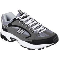 Skechers Men's Stamina Cutback low Top Sneaker Shoes Black Footwear Apparel