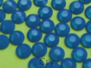 20ss CARIBBIAN BLUE OPAL HOTFIX Swarovski Rhinestones 144 pcs
