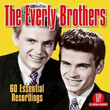 The Everly Brothers 60 Essential Recordings (2018) Remasterisé 3-CD Neuf/Scellé