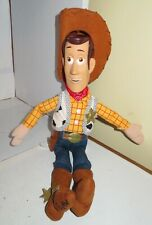 "Disney Store Exclusive Toy Story Woody Doll 16"" Plush Great Used Toy Pixar Nice"