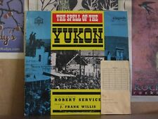 SPELL OF YUKON POEMS BY ROBERT SERVICE LP RS101 WILLIS