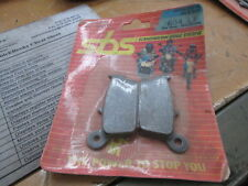 SBS Rear Wheel Brake Pads Honda NSR50 NSR80 CR125 XR250 CR250 XR600 CB700 604LF
