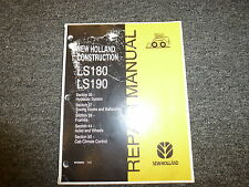 New Holland LS180 LS190 Skid Steer Loader Hydraulic Shop Service Repair Manual