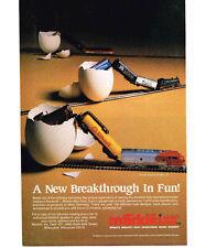 1984 MARKLIN N Scale Model Trains Vtg Print Ad