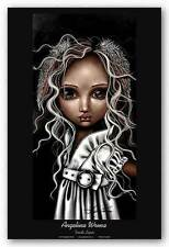 FANTASY ART PRINT Timide Lapin Angelina Wrona 16x32