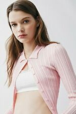 Urban Outfitters Reagan collar button jumper - Size XS rrp £39