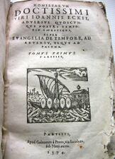 1574 DOCTISSIMI SVPER EVANGELIA HAERETICOS ECKII LIVRE PSEAUME LUTHER BIBLE BOOK