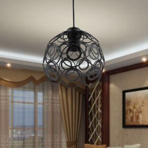 Industria Wire Diamond Loft Pendant Ceiling Lightshade Lamp Shade Cover Cage
