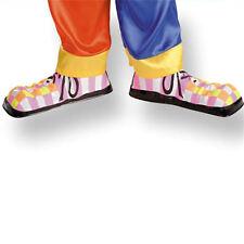 Sur chaussures fluo de clown enfant en plastique cirque ou petite taille adulte