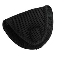 Mallet Putter Headcover Head Cover Protector Bag Golf Club Accessories Black
