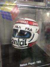 HELMET HELM CASCO F1 / F-1 Ferrari / Nelson Piquet 1983 (1:5) SPARK EDITIONS