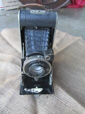 Antique Folding Camera Romain Talbot Errtee Compur F Deckel Muchen Vintage