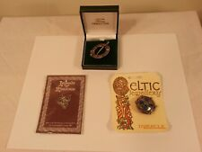 Three used Celtic jewelry pieces