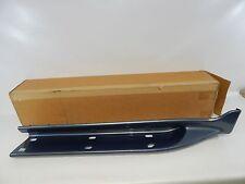 New OEM 1995-2001 Ford Explorer Front Right Rocker Moulding Panel Blue Trim