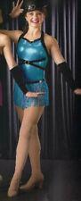 Adult XL Jazz Tap Fringe Dance Costume RHYTHM IS A DANCER Last One!