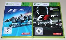 2 Xbox 360 juegos bundle-f1 2012 & f1 2013-Formula One racing de fórmula uno