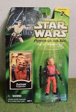 STAR WARS POWER OF THE JEDI CARDED ZUTTON SNAGGLETOOTH
