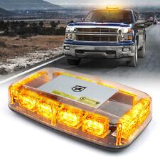Xprite Flashing Strobe Light 12V Car Roof Emergency Warning Beacon Amber/Yellow
