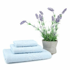 Galata 3 Pcs Turkish Cotton Towel Set (1 Bath Towel, 1 Hand Towel, 1 Washcloth)