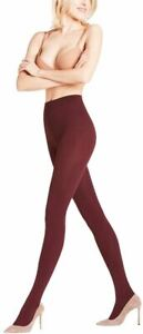 Falke Womens Pure Matte 100 Den Tights - Barolo Burgundy