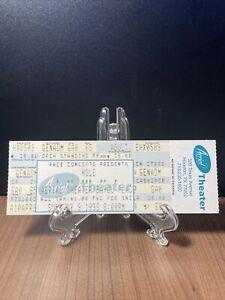 HOLE Concert Ticket Unused Vintage May 9 1999 Aerial Theatre