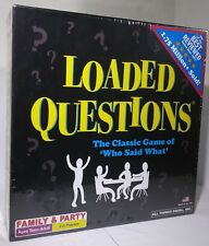 Brand New in Package 2014 Loaded Questions Family And Party Game Teen to Adult