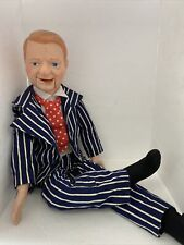 1980 EEGEE W. C. FIELDS Ventriloquist Dummy Doll Vintage WORKS