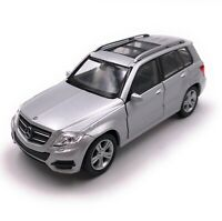 Model Car Mercedes Benz GLK SUV Silver Car Scale 1:3 4-39 (Licensed)