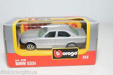 BBURAGO BURAGO 4158 BMW 535I 535 I METALLIC GREY MINT BOXED