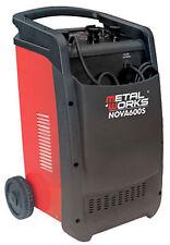 Metalworks Nova 600S Cargador arrancador de baterías 12 y 24v alta potencia  2kW