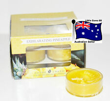 GOOSE CREEK CANDLE Exhilarating Pineapple 1 Box 12 Tealights 2-8 Box $12 Postage