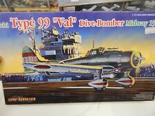 Dragon 1/72 scale plastic kit Type 99 Val Dive Bomber