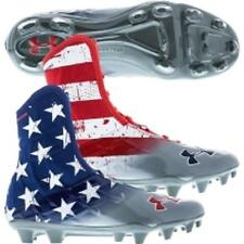 Rare Wounded Warrior/Stars and Stripes Under Armour Highlight Mc Football Cleats
