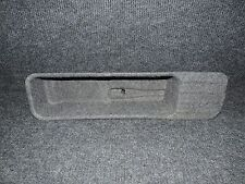 2011-2014 F150 GRAY OEM CREW CAB ONLY UNDER REAR SEAT JACK TOOLS COVER TRAY  01