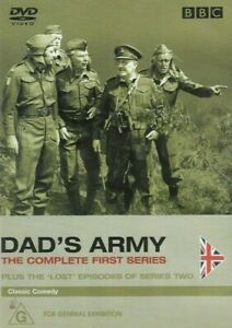 Dad's Army ~ Season One (Region 4, 2 Disc DVD Set) *Black & White Presentation*