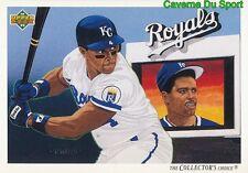 088 DANNY TARTABULL TC, CL KANSAS CITY ROYALS  BASEBALL CARD UPPER DECK 1992