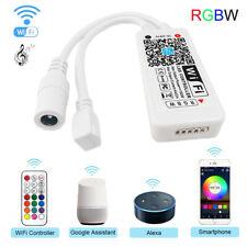 DC 9-28V Smart WiFi Controller Wireless for RGBW Strip Lights Alexa Google Home