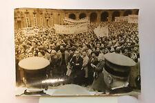 Photo presse vintage 1963 Grève générale des facultés Sorbonne Paris étudiants