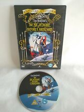 The Nightmare Before Christmas (DVD, 2006) Special Edition. Excellent Condition.