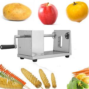 Twister Kartoffel Gemüse Tornado Spiralschneider Kartoffelschneider Edelstahl