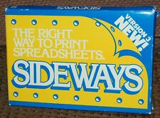 SIDEWAYS V3.10 - THE RIGHT WAY TO PRINT SPREADSHEETS - MS-DOS VERSION