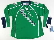 NEW Vintage Reebok OHL CHL Plymouth Whalers Hockey Jersey Size Youth L/XL
