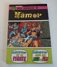 Artima / Arédit     Namor   N° 5 et 6  album relié 15     avr28