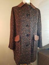 Vintage 1940's-50's Smartwear Emma Lange Small/med coat outerwear Mad Men Style