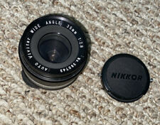 Vivitar NIKKOR Wide Angle 1:2.8 Lens - Professionally Owned - Made In Japan